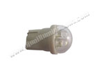T10 Wedge 3LED White in clear dome cover