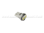 T10 2SMD 5050 light on top white