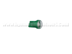 T10 2SMD 5630 Green with round fluted cover