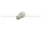 BA9S 1SMD 5050 Clear cover White