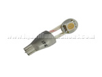 T15 1SMD 5050 with flex wired White
