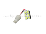 T15 6SMD 5050 with flex wired White